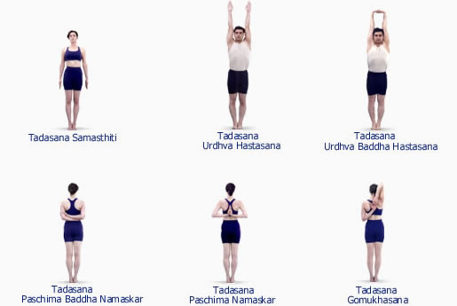 Sequence Iyengar Poses Names Yoga Of