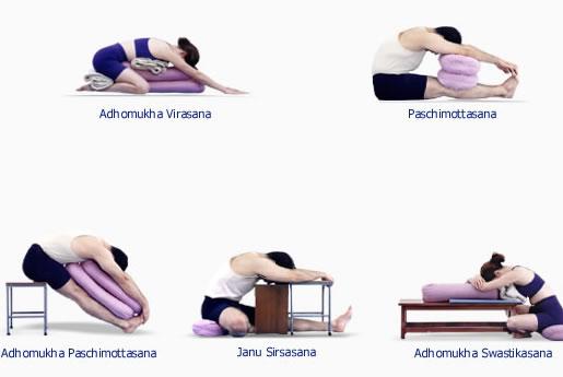 B K S Iyengar - Iyengar Yoga - Asanas - Forward Bending Asanas