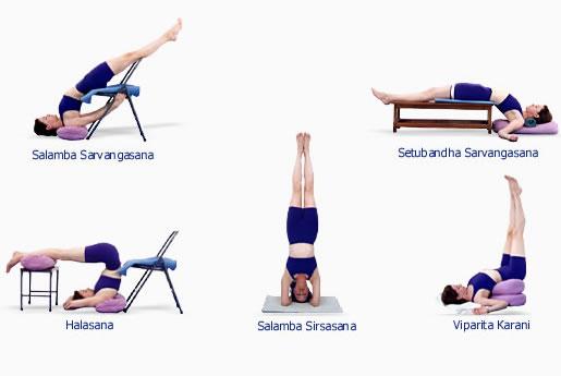 yoga iyengar asanas